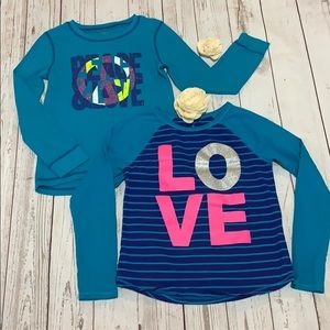 2 Children Place LS Girls Tees size L/10-12